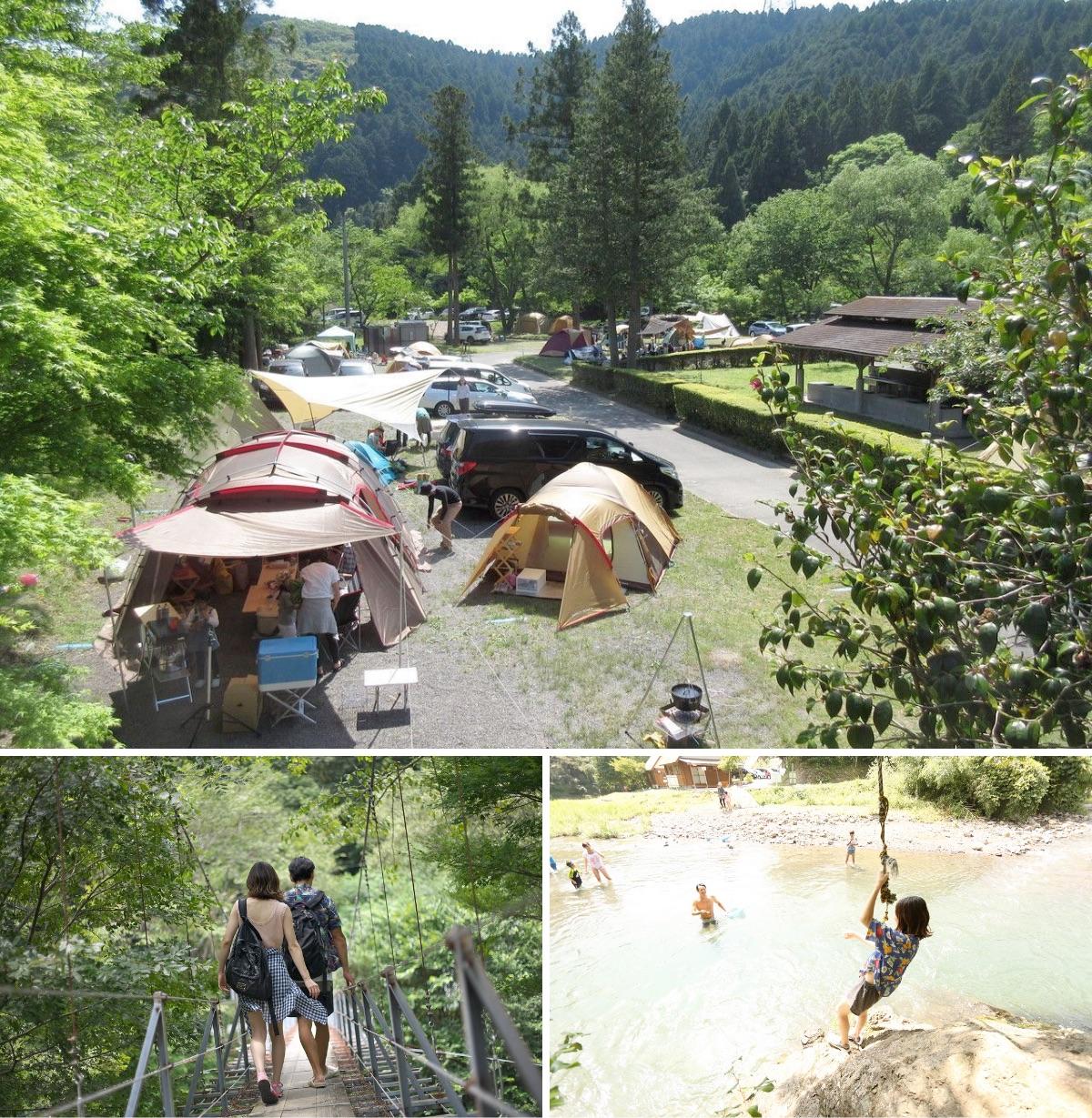 場 の なら キャンプ ここ 里 ならここの里に泊まって利用しました