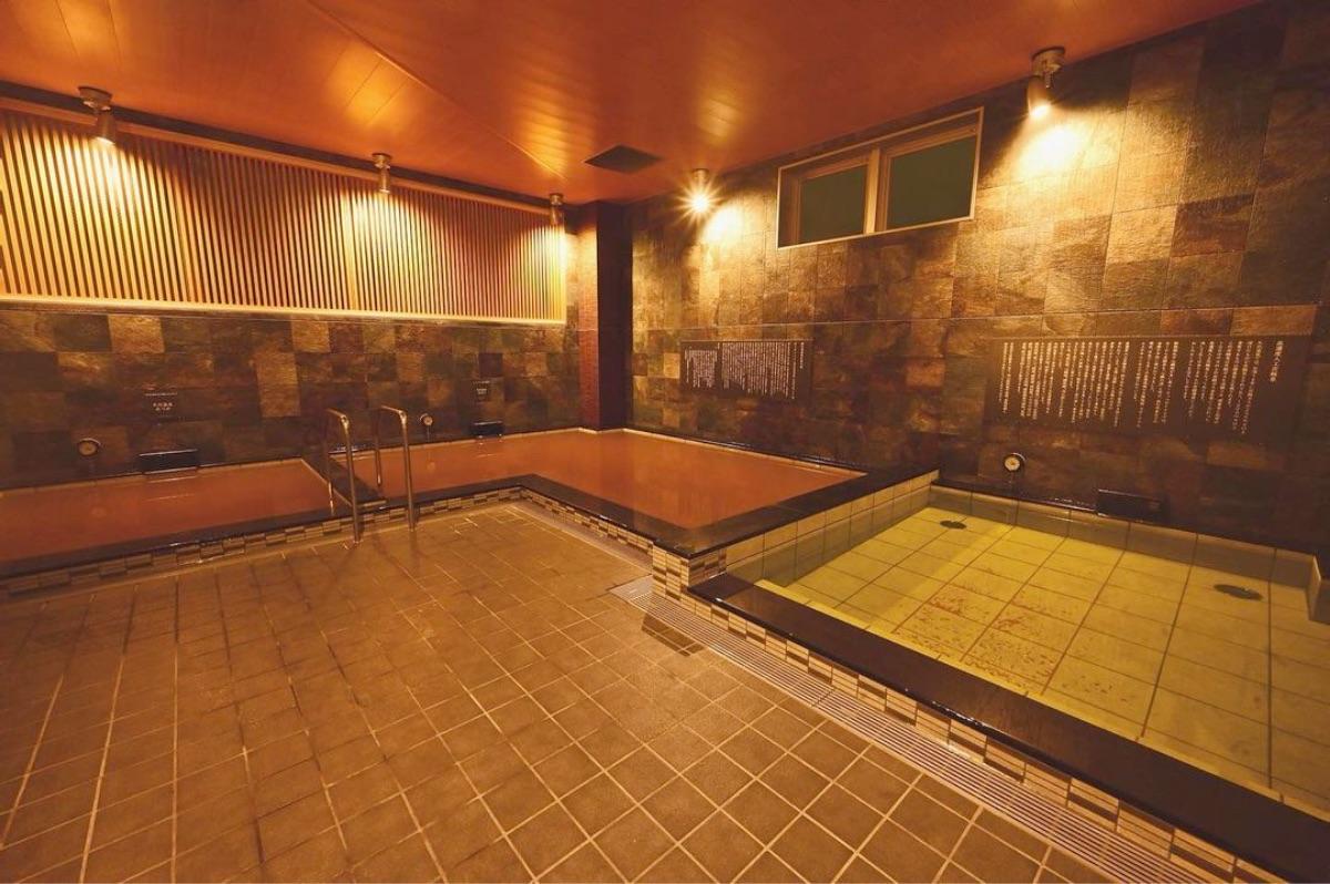 朝日湯源泉 ゆいる:大浴場